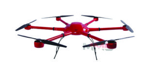 The professional grade drone model A6-plus hexacopter ​which is currently being used by BPC