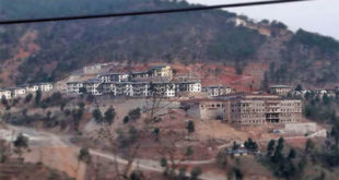 The ultra modern hospital in Wangdue which is currently under construction. PIC source : Namgay Dorji