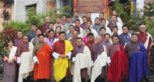 His Majesty The King graced the launch of the Bhutan Foreign Service Programme, at the Royal Institute of Governance and Strategic Studies in Phuentsholing on 16th August.