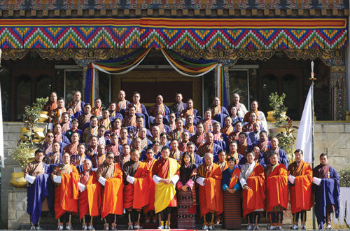 His Majesty The King and Her Majesty The Gyaltsuen graced the 10th session of the second Parliament