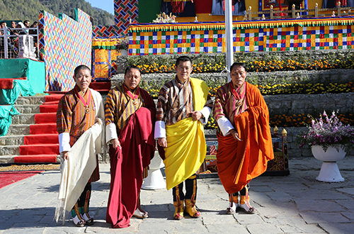 Dr. Lotay Tshering, Dasho Penjore, and Lyonpo Chenkyab Dorji were awarded the Druk Thuksey.