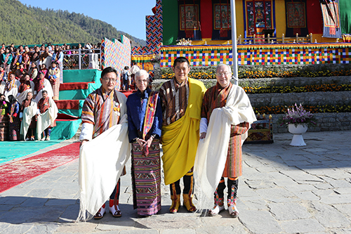 Dechen Dorji, Francoise Pommaret, and Michael Ruthland were awarded the National Order of Merit.