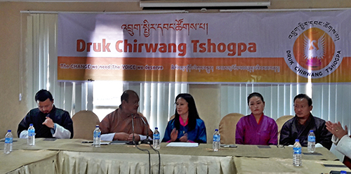 The DCT press conference announcing the 'merger' of DCT with DPT